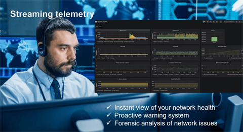 Telemetry – better insight into network performance